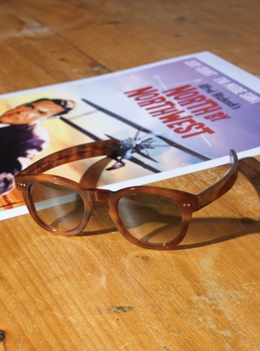 Thick Sunglasses in Amber