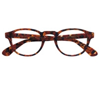 Semi-Square Frame in Red Tortoise