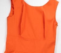 Ladies Cotton Coral Dress