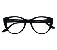 Bold Butterfly Frame in Black