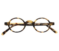 Archival Round Frame in Light Tortoise