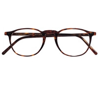 Thin Square Frame in Dark Tortoise