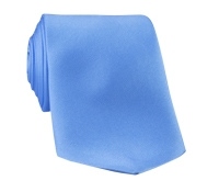 Silk Solid Tie in Periwinkle