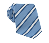 Mogador Striped Tie in Cornflower