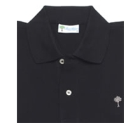 Women's Polo in Black