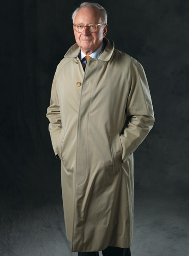 Classic Single Breasted Raincoat