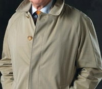 Classic Single Breasted Raincoat