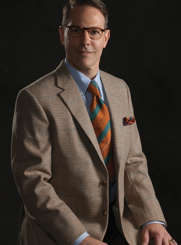 Cinnamon Glen Plaid Lambswool Sport Coat with Emerald Windowpane