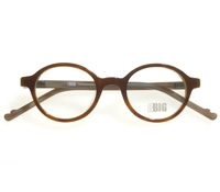 Children's Small Round Frame in Light Tortoise
