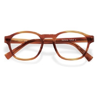 Bold Rounded Square Frame in Amber
