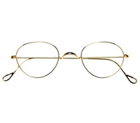 Wire Pantos Frame in Champagne Gold, Size 42