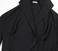 Marie Meunier Paleto Jacket in Black