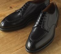 The Alden Split Toe Blucher in Black