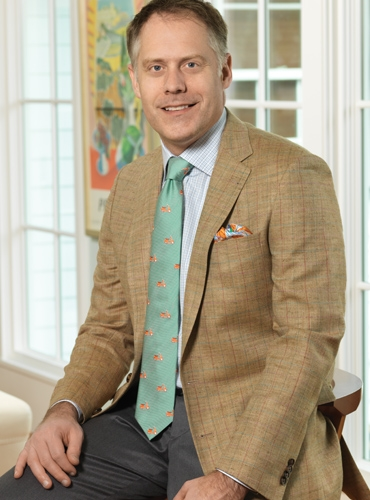 Straw Sport Coat with Multi-Colored Windowpanes in Wool, Silk, and Linen