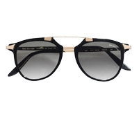 Fashion Flare Sunglasses in Black