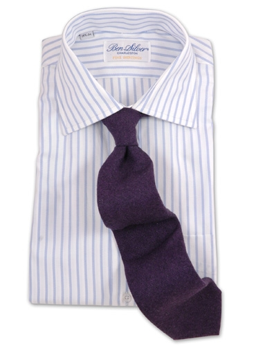 Cashmere Tie in Purple