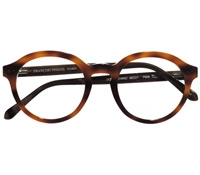 Bold Semi-Round Frame in Brown Shell