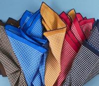 Silk Printed Polka Dots Pocket Squares
