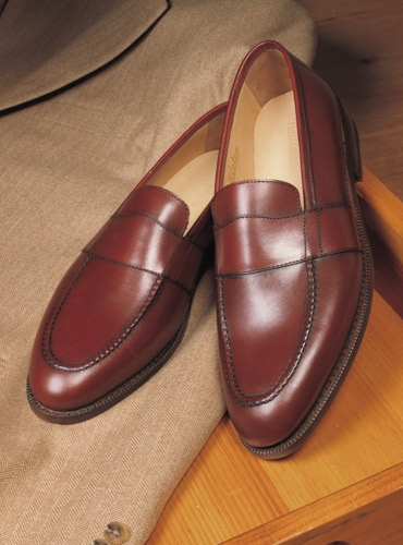 The Wellington Loafer in Brick