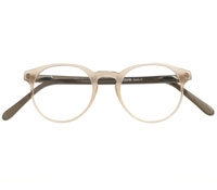 Classic P3 Frame in Matte Shell with Grey Temples