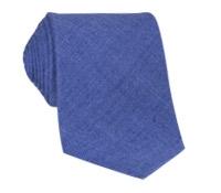 Shantung Silk Solid Tie in Periwinkle