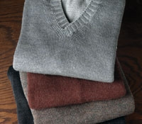 Alpaca and Silk Sweater Vest