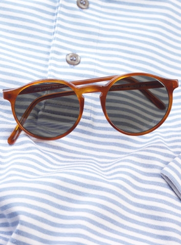 Lafont Pantheon Sunglasses in Amber