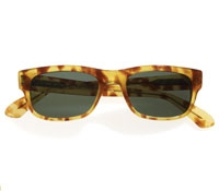 Lafont Demi-Blond Rectangular Sunglasses
