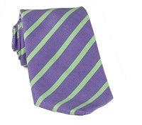 Mogador Bar Stripe Tie in Imperial