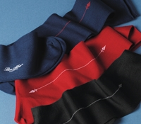 Dress Socks with Arrow Motif