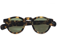 Bold Round Sunglasses in Dark Tortoise