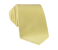 Silk Basketweave Tie in Sun