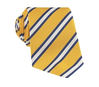 Mogador Striped Tie in Lemon