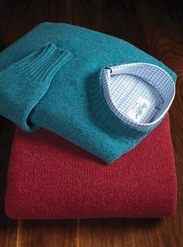 Lambswool Crewneck Sweaters