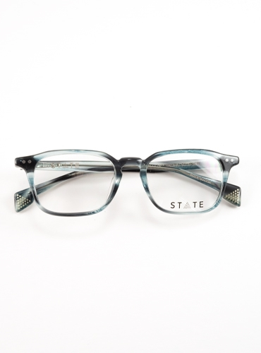 Slim Rectangular Frames in Pacific Blue
