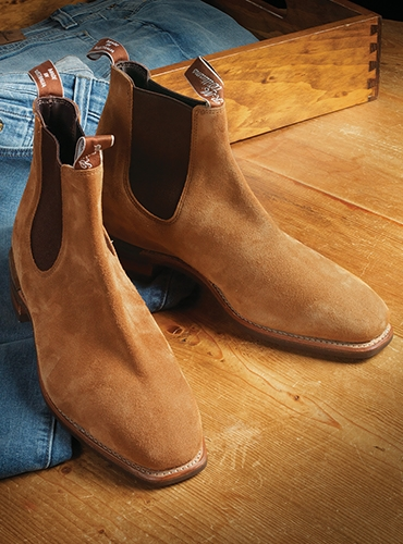 R.M Williams Boots in Tobacco Suede