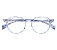Elston Semi-Round Frame in Crystal