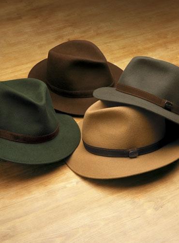 Soft Fur Felt Trilby Style Hat