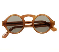 Francois Pinton Arched Sunglasses in Blond