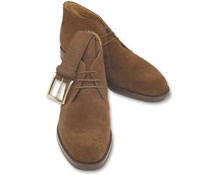 The Chiltern Chukka Boots in Brown Suede