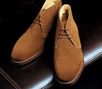 The Chiltern Chukka Boot in Brown Suede