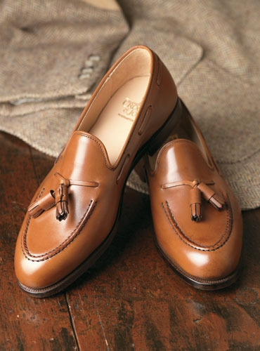 The Cavendish Tassel Loafer in Tan