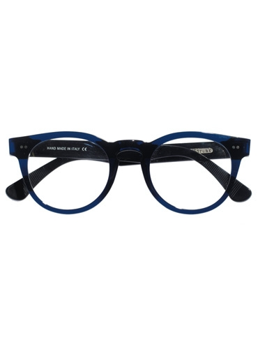 Semi-Round Frame in Navy Blue