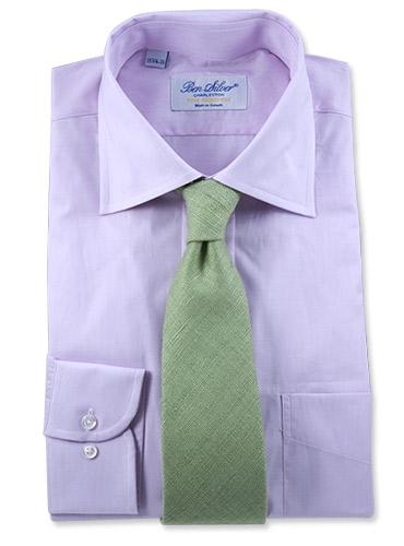 1267a89bc0de Solid Woven Raw Silk Tie in Sage