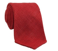 Shantung Silk Solid Tie in Guardsman