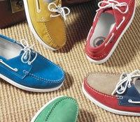 Men's Suede Boat Shoe