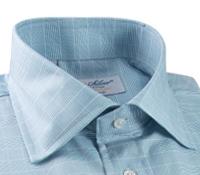 Shirt Teal/Wht Gln Pld Sc