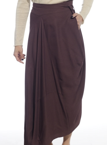 Marie Meunier Nebuleuse Skirt in Purple