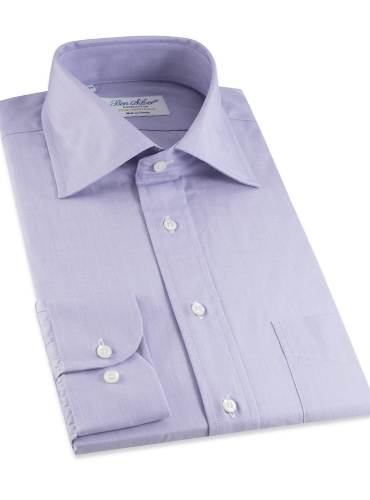 Purple End on End Spread Collar