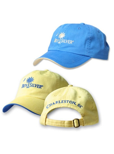 Youth Size Ben Silver Logo Caps